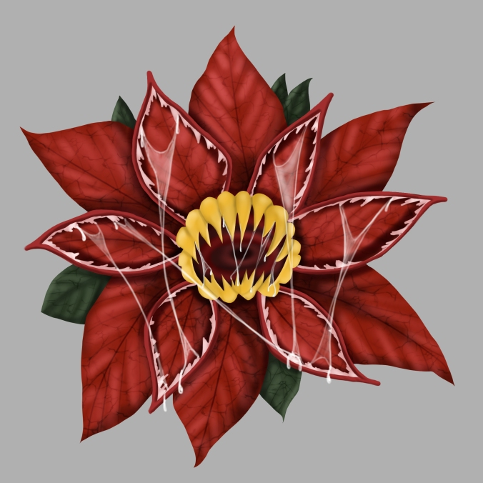 poinsettia-demogorgon