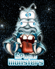 space-monster-blue